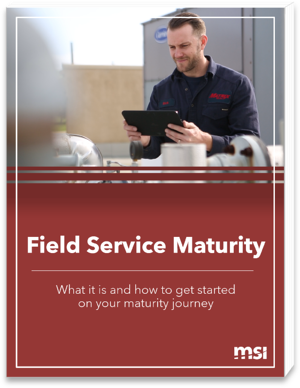 Field Service Maturity Guide Cover Image