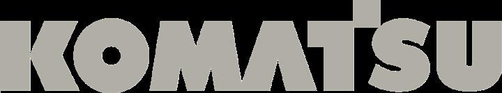Komatsu Logo Gray